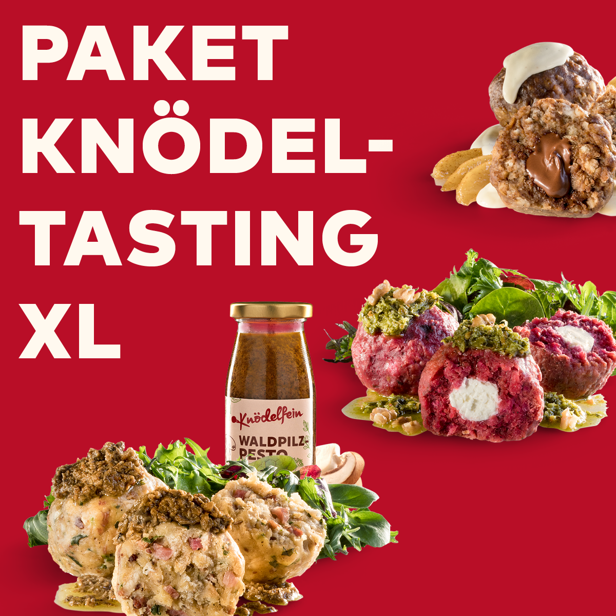 """Paket Knödel-Tasting """"XL"""""""