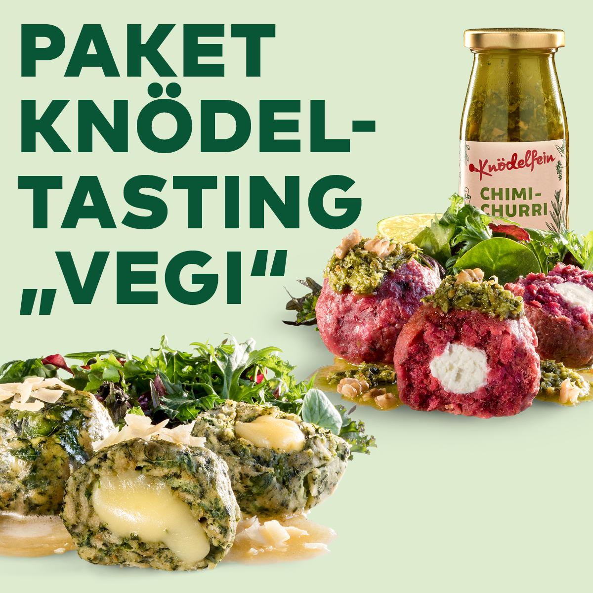 """Paket Knödel-Tasting """"Vegi"""""""