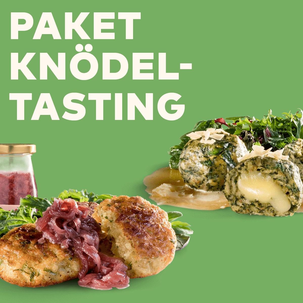 Paket Knödel-Tasting